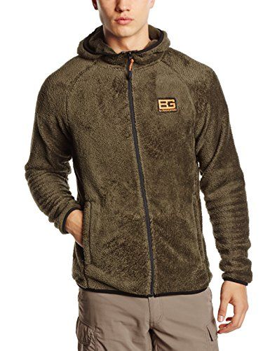 3138d11ff The Bear Grylls Mens Fluffy Fleece Hooded Jacket helps you to stay ...