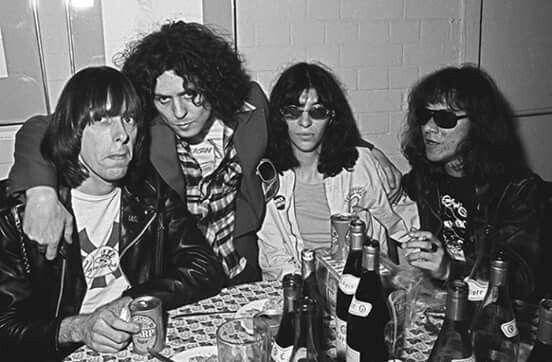 Marc Bolan meets The Ramones