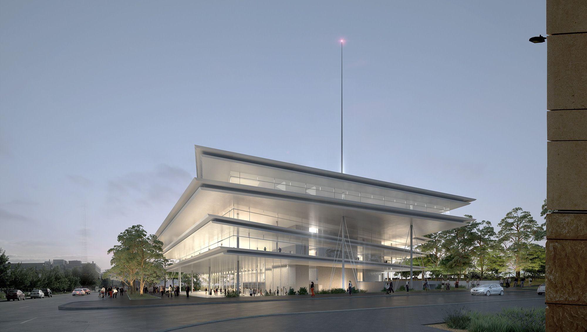 Renzo Piano plant Bürogebäude in Iowa / Fliegende Ebenen - Architektur und Architekten - News / Meldungen / Nachrichten - BauNetz.de