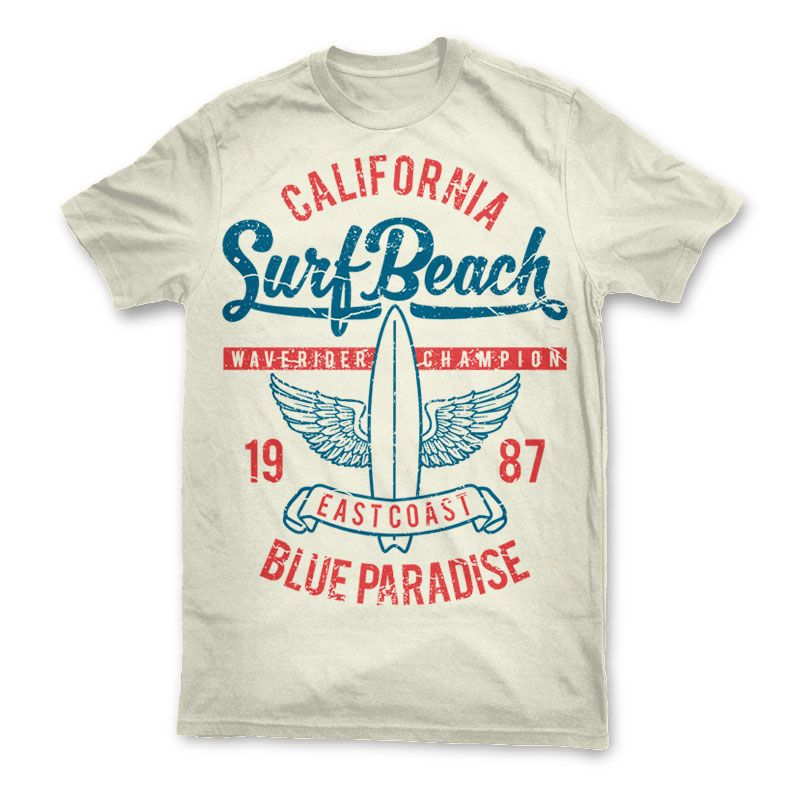 Surf Beach Tee Shirts 128 Tshirt Designs Template