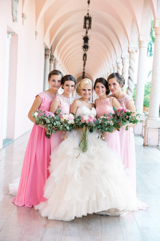 Fairytale Pink And Gold Wedding Custom Wedding Dress Gold