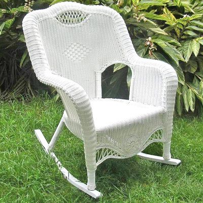 Outstanding Riviera Rocking Chair Porch Floor In 2019 Wicker Rocking Dailytribune Chair Design For Home Dailytribuneorg