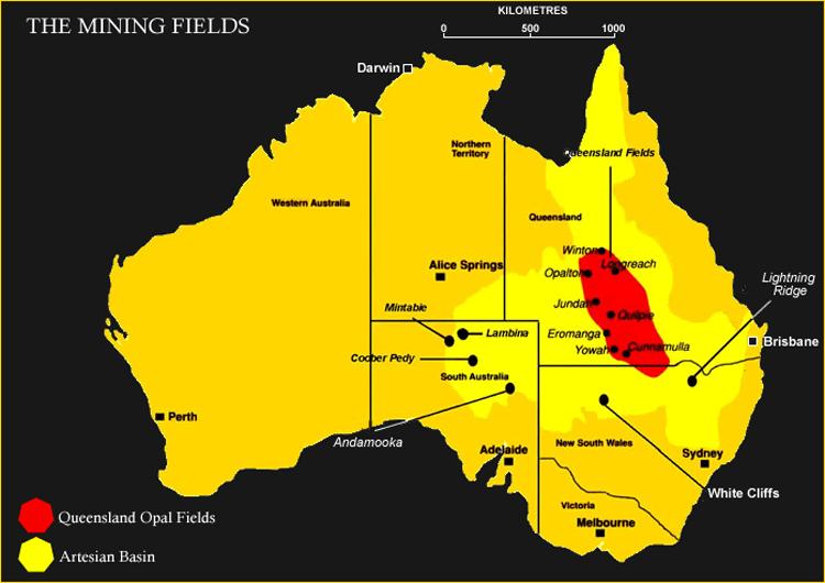 The Australian Opal Fields