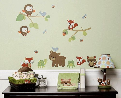 Carter S Forest Friends Bedding Collection Features