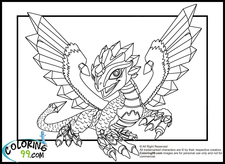 Skylanders Coloring Pages Dragons Dragon Coloring Page Animal