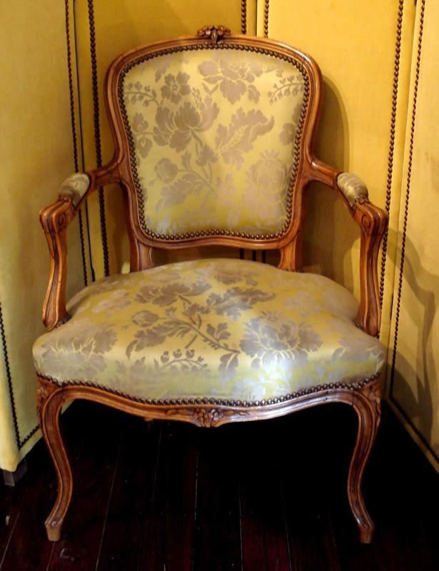 Pair Of Louis Xv Style Armchairs Ac033 Product Id Ac033 Pair Of
