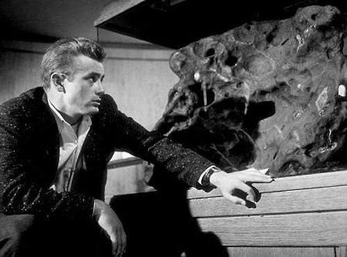 "James Dean - behind the scenes - ""Rebel Without A Cause"""
