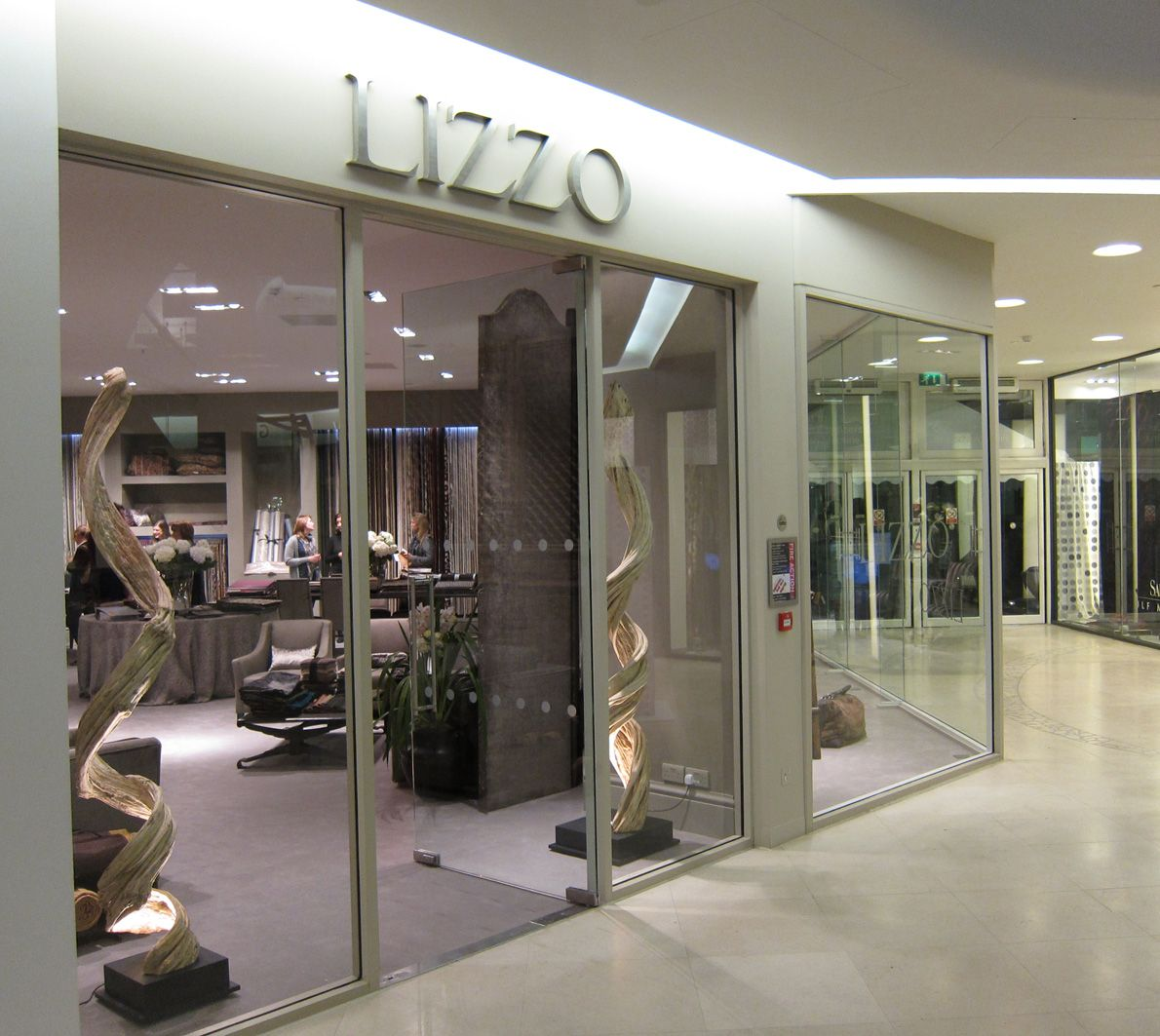 Lizzo S Showroom At Chelsea Harbour London