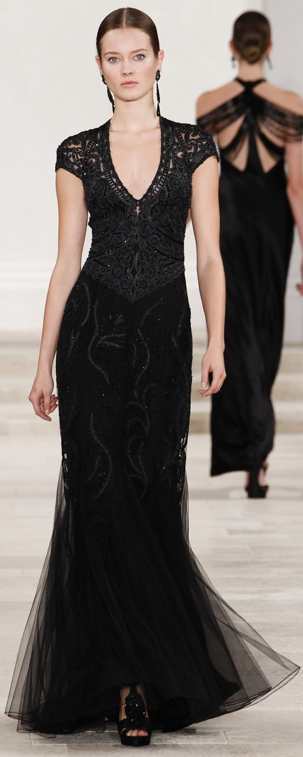 Ralph Lauren Spring Summer 2013 Designer Evening Gowns | Pinterest ...