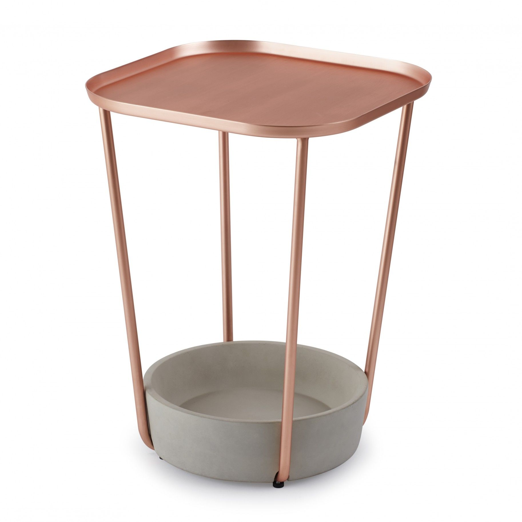 Pin By Product Bureau On Tables Coffee Side: Petite Table Couleur Or Rose