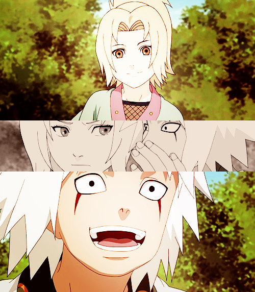 Yo! I'm Jiraiya! You can send me the love letter later! #naruto