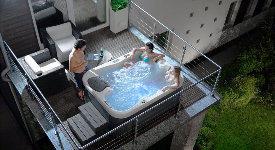 vasca idromassaggio da esterno - Cerca con Google | jacuzzi e ...