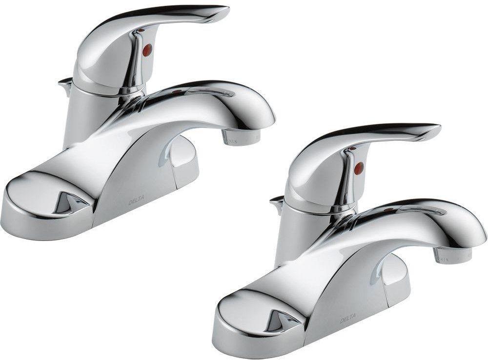 2 pack delta bathroom faucets