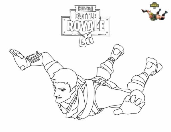 Fortnite Video Game Coloring Pages Warlord Morgan
