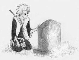 Bleach Karin and Toshiro..
