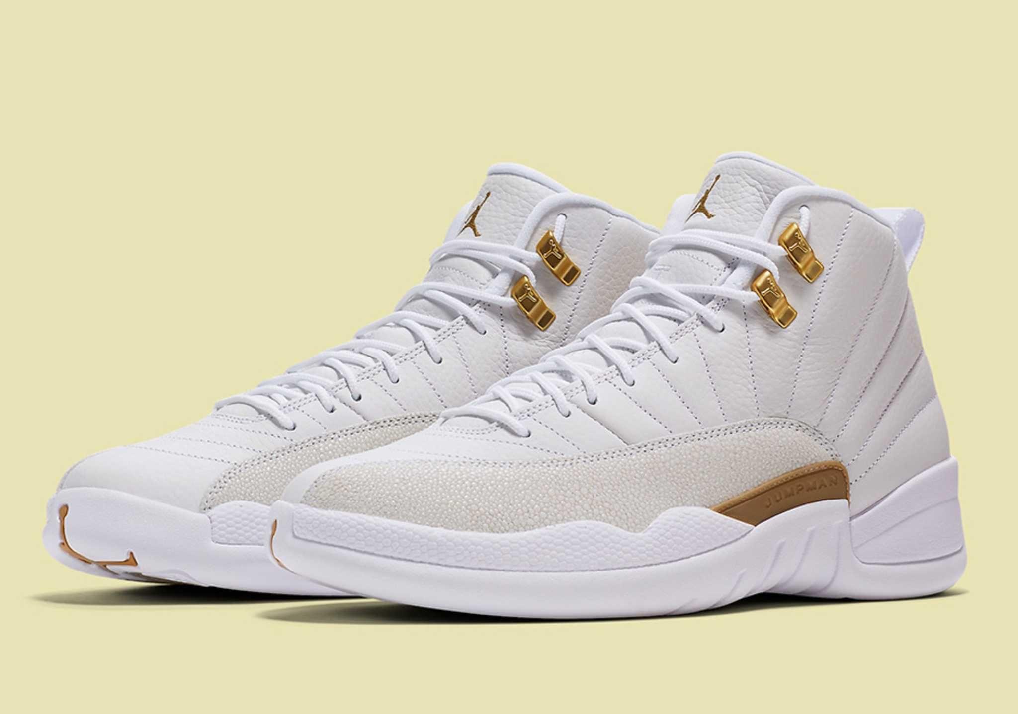 An Official Look At The Air Jordan 12 Ovo White Air Jordans