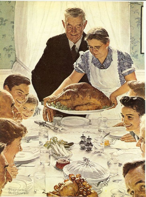 clearance free shipping norman rockwell prints freedom from want