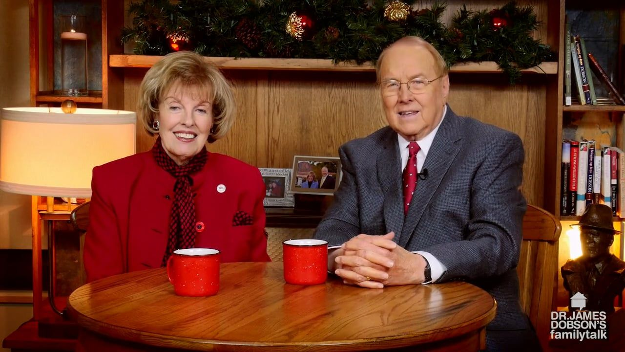 Dr. and Mrs. Dobson share Christmas memories 2015.
