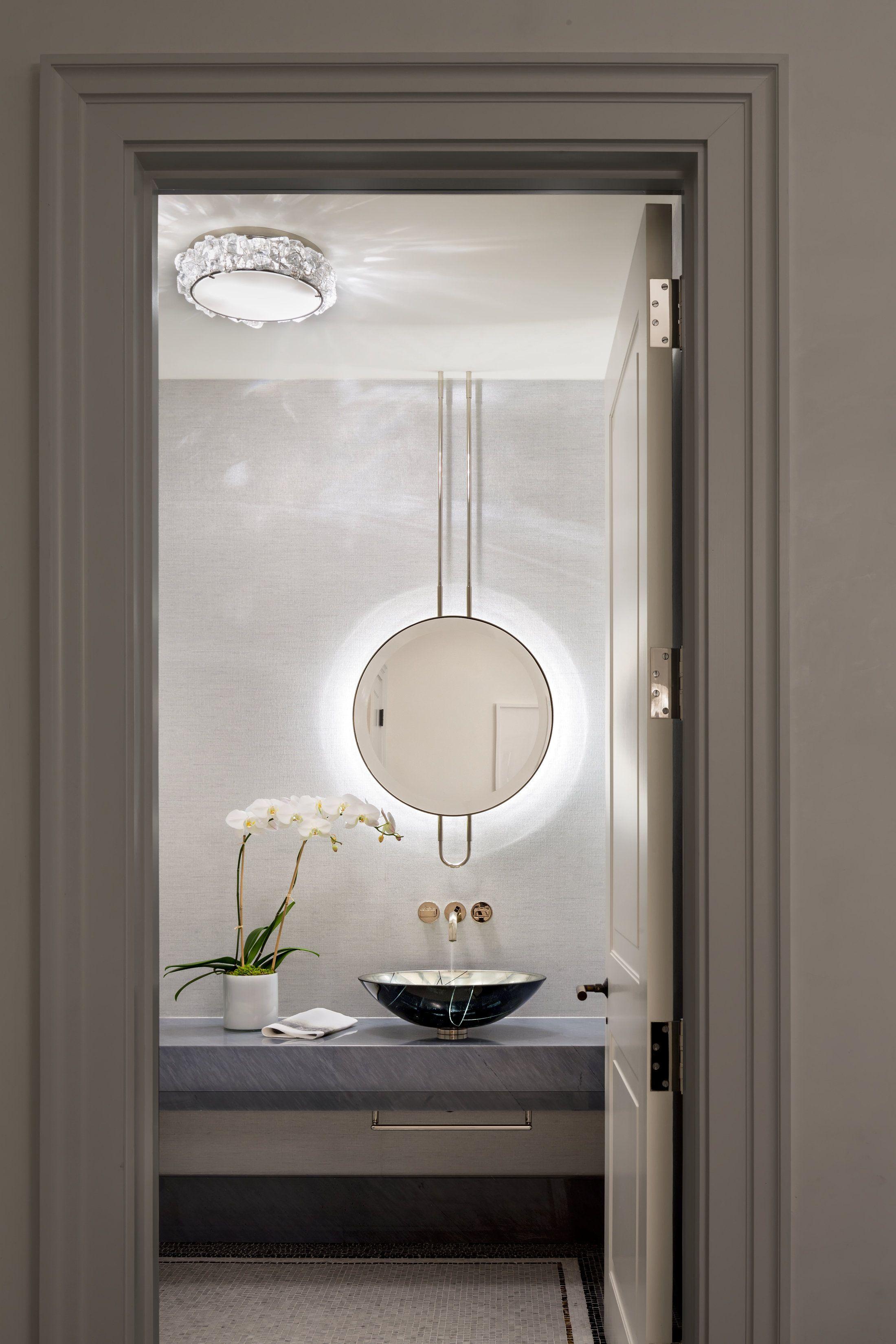 Pin by CL Hwu on Illuminated Backlit LED Round Bathroom Mirror LED ...