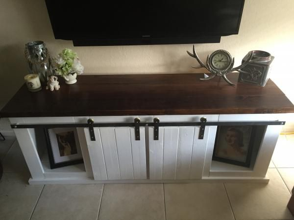 Grandy tv stand do it yourself home projects from ana white home grandy tv stand do it yourself home projects from ana white solutioingenieria Images