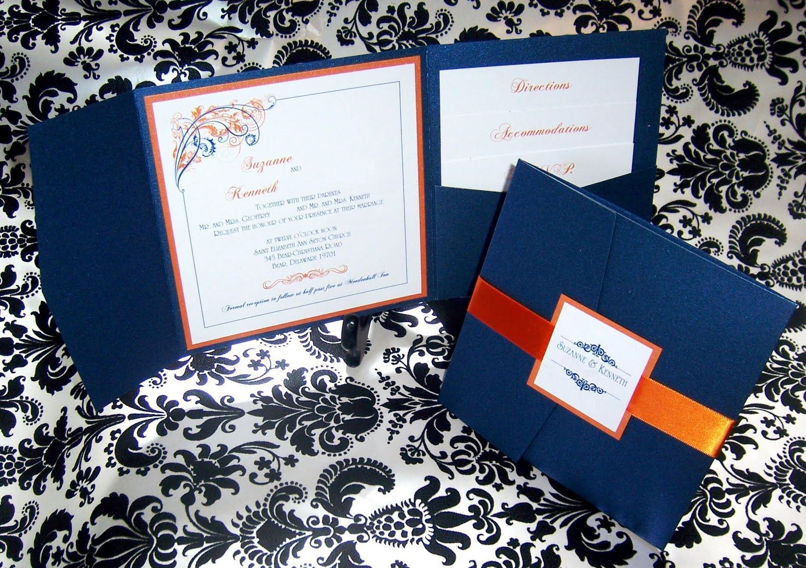 Some People Think I M Crazy For Mixing Navy Blue And Orange Together