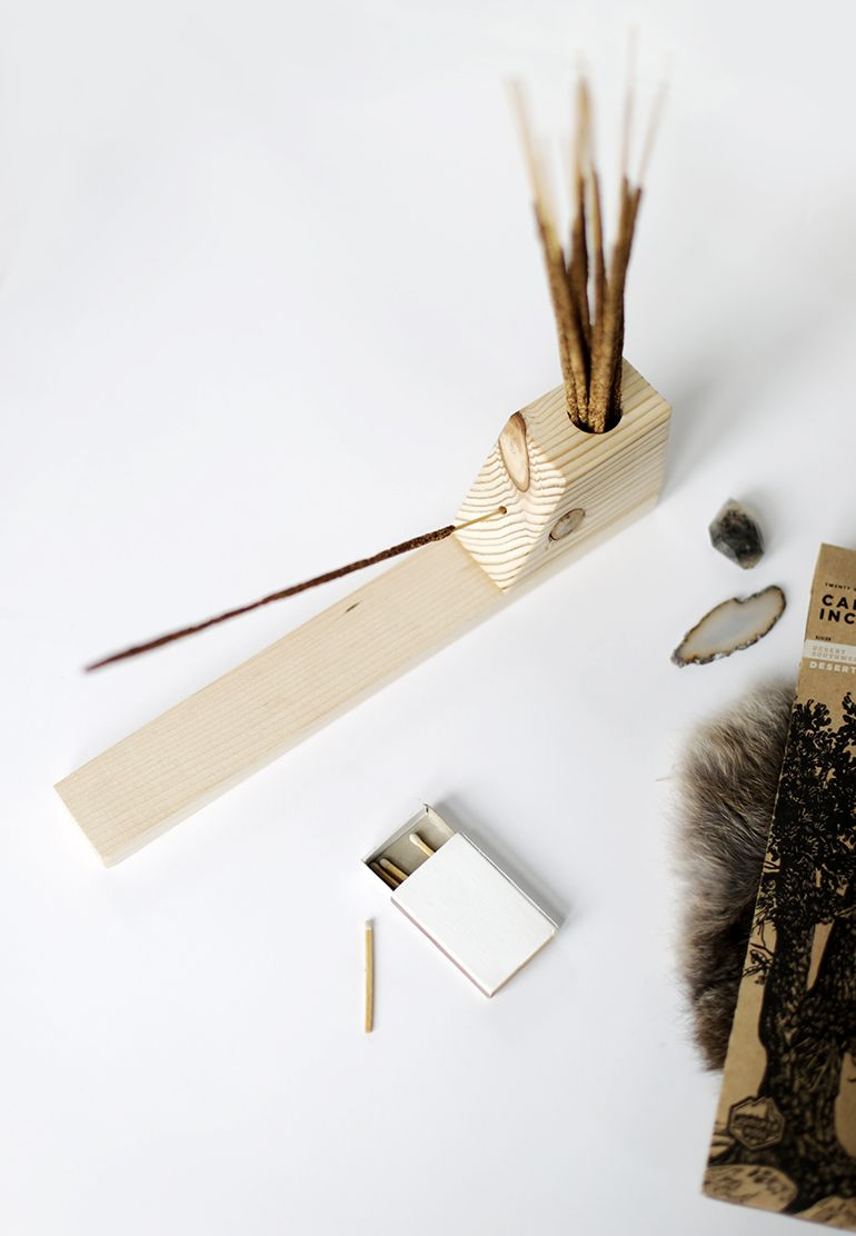 diy incense holder | diy & self sufficiency | pinterest | diy