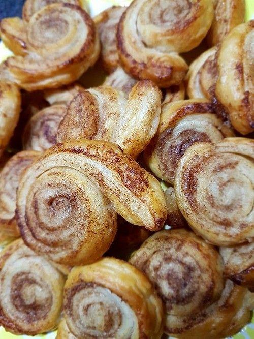 Zimtschnecken aus Blätterteig von mel_ | Chefkoch