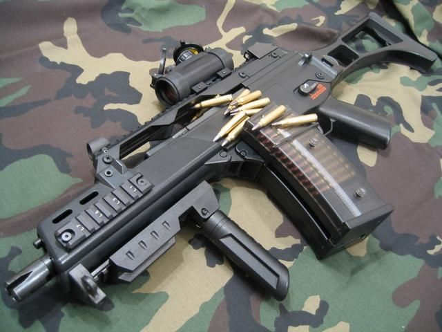 Heckler and Koch G36C | Daily Awesomeness | Pinterest | Php