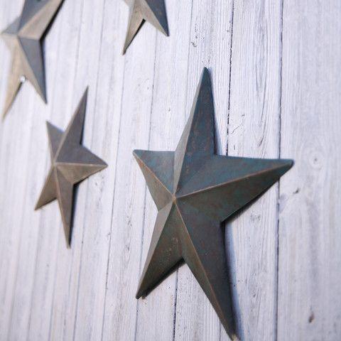 distressed decorative star – TEA & NEST