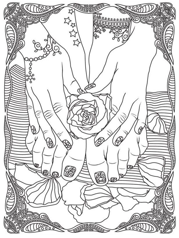 Nails Colorish Coloring Book App For Adults By Goodsofttech Love Coloring Pages Coloring Books Cool Coloring Pages