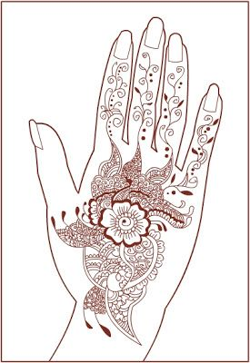 Nicole S Free Coloring Pages Henna Mehndi Pattern Mehndi Patterns Henna Mehndi Fashion Coloring Book