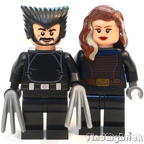 BM149-II-Lego-Custom-X-Men-Days-of-Future-Past-Wolverine-Rogue-Minifigs-NEW