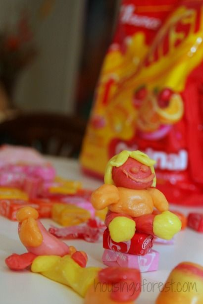 Starburst Candy Sculptures | candy | Starburst candy, Candy art