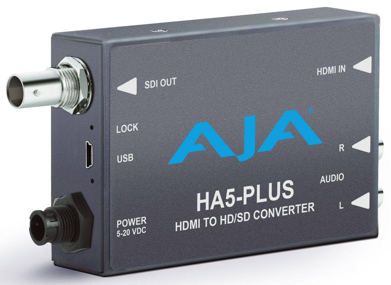 Aja ha5plus hdmi to 3gsdi miniconverter hdmi