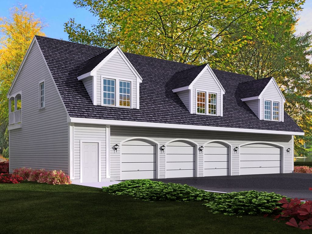 4car garage apartment quality and affordable house for Affordable garage plans