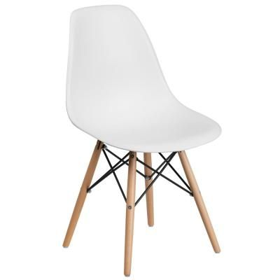 Flash Furniture White Side Chair White Plastic Chairs Plastic Dining Chairs Solid Wood Dining Chairs