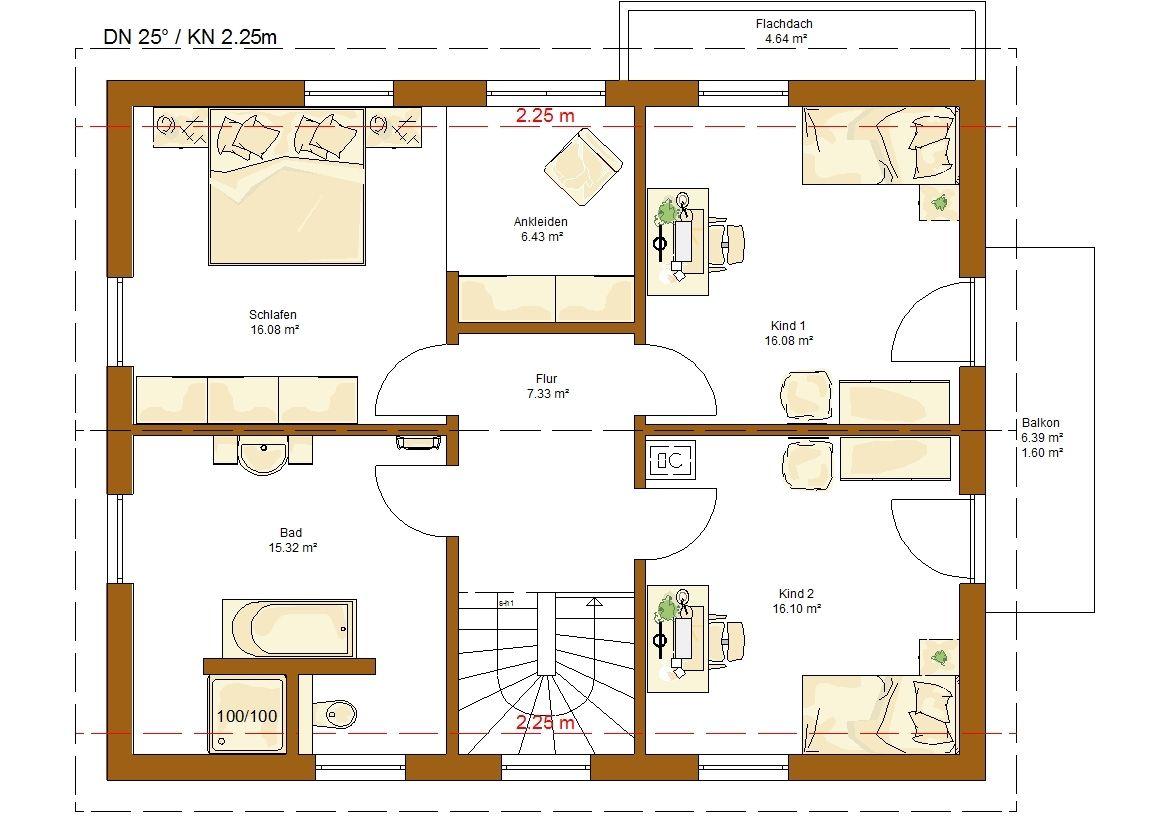 Great CLOU 159 Grundriss Dachgeschoss