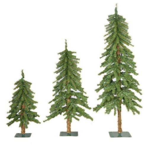3 pack apline christmas trees menards - Menards Christmas Trees