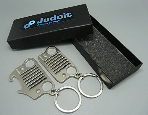 Couple Premium Jeep Grill Keychain And Bottle Opener Key Chain