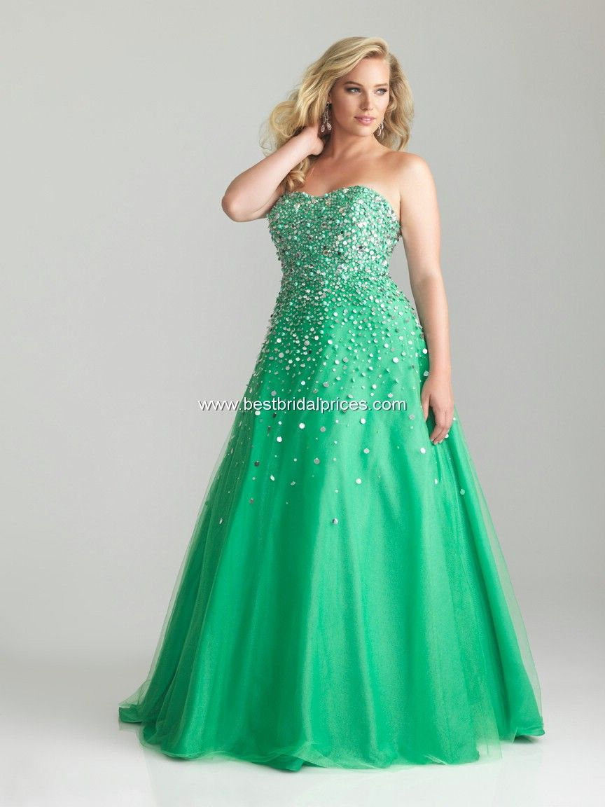 fb05ce335aa Gorgeous plus size prom