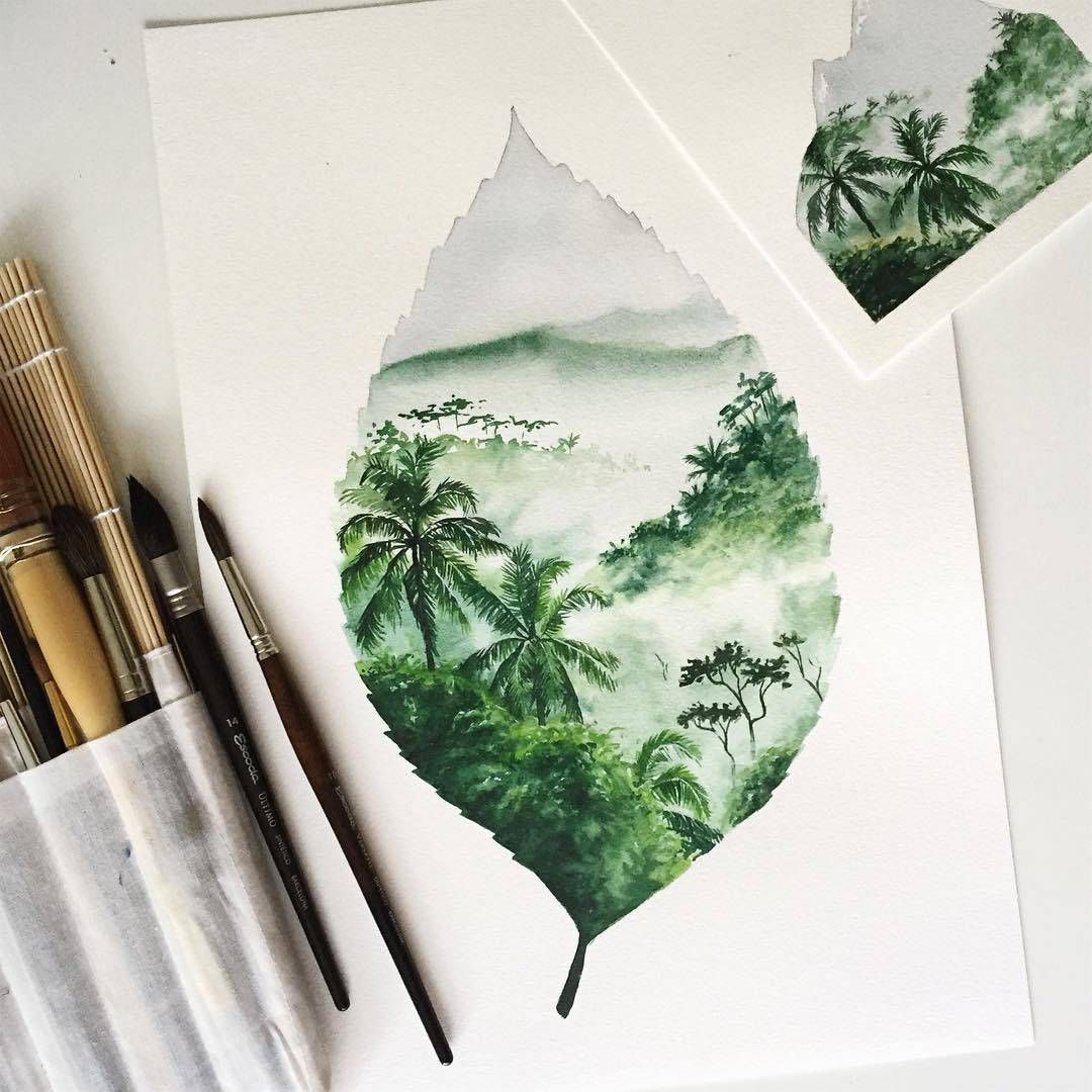 Watercolorist Jj Illus Waterblog Akvarel Aquarelle Painting