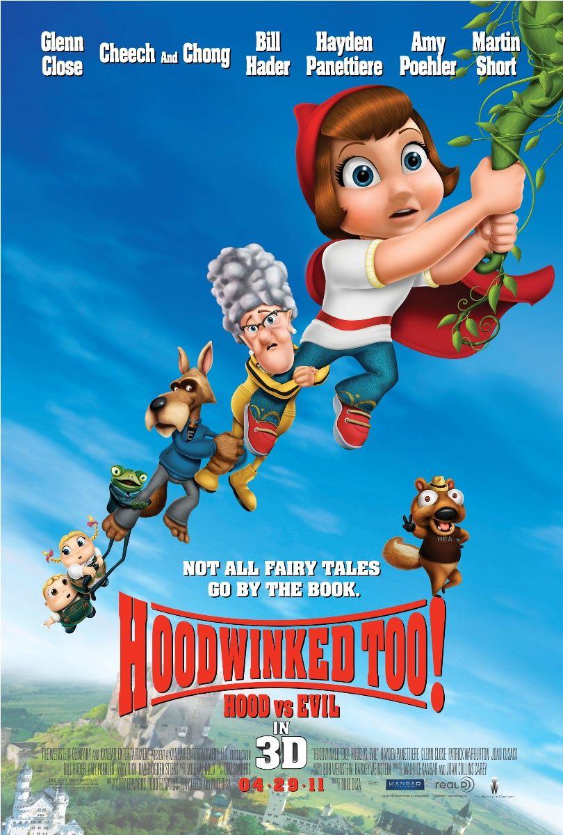 Hoodwinked Too Hood Vs Evil We Movies Películas De Animación Peliculas De Muñequitos El Niño Pelicula
