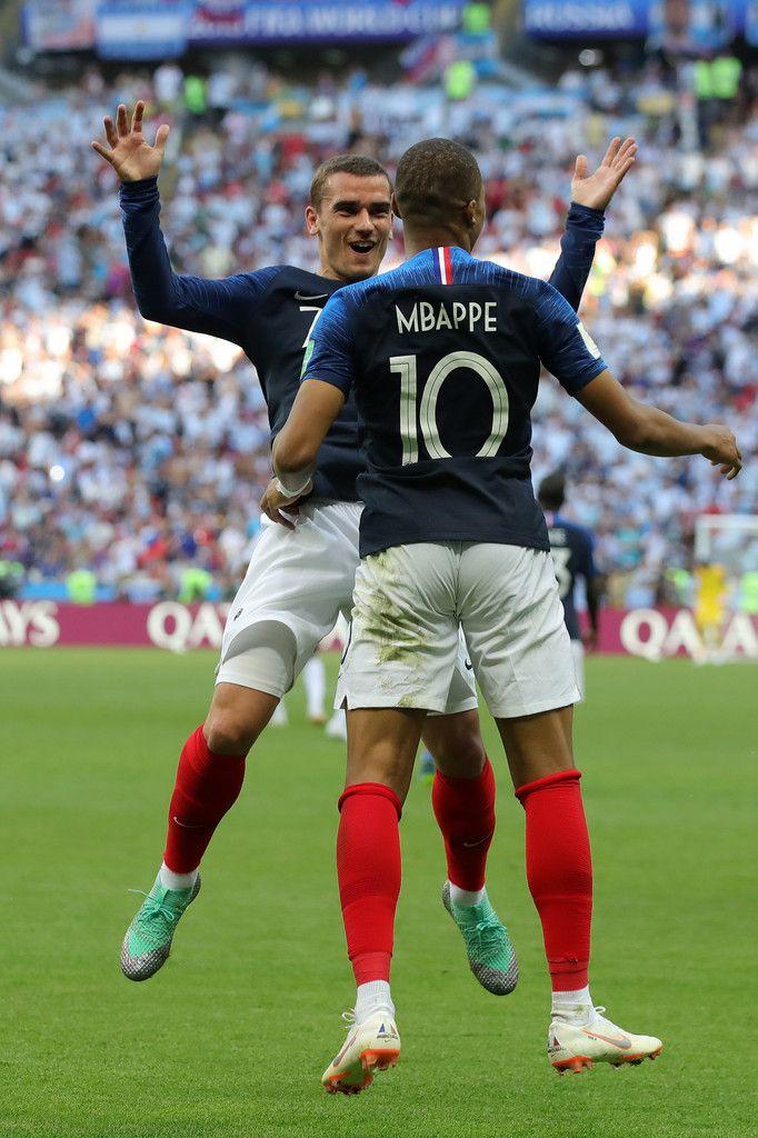 Antoine Griezmann Photos Photos France vs. Argentina