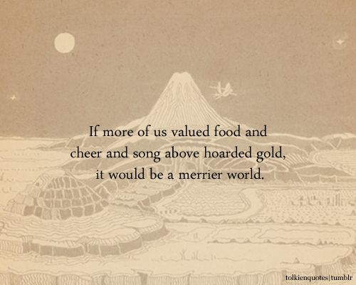 J. R. R. Tolkien, The Hobbit | 15 Wonderful Quotes About Life From Children's Books