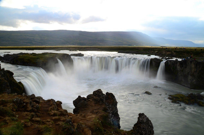 Godafoss waterfalls - Islande