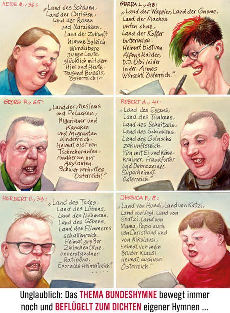 Das Thema Bundeshymne Bewegt Noch Immer News At Art Humor Historical Figures