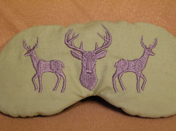 Elegant Sleeping Cat Embroidered Silk Sleep Eye Mask