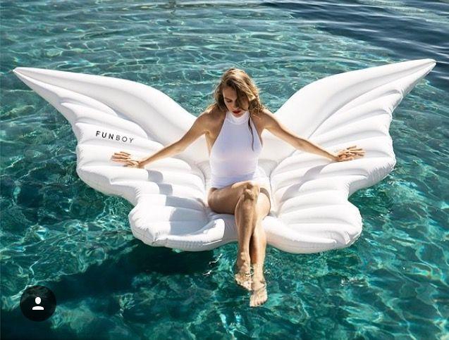 Funboy angel wings float Pool floaties, Pool floats