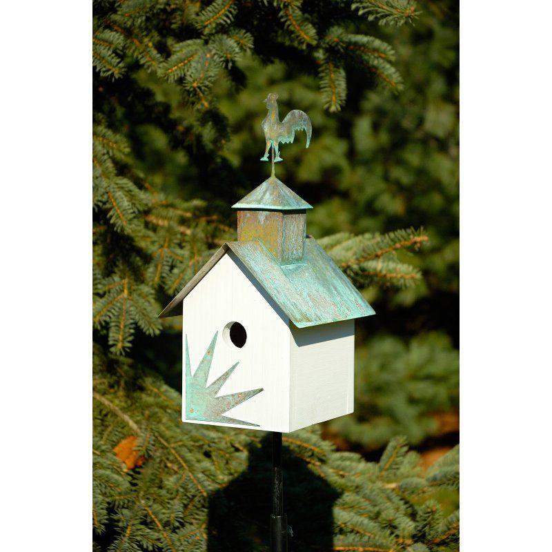 Heartwood Sleepy Hollow Hen House Bird House - White - 142F