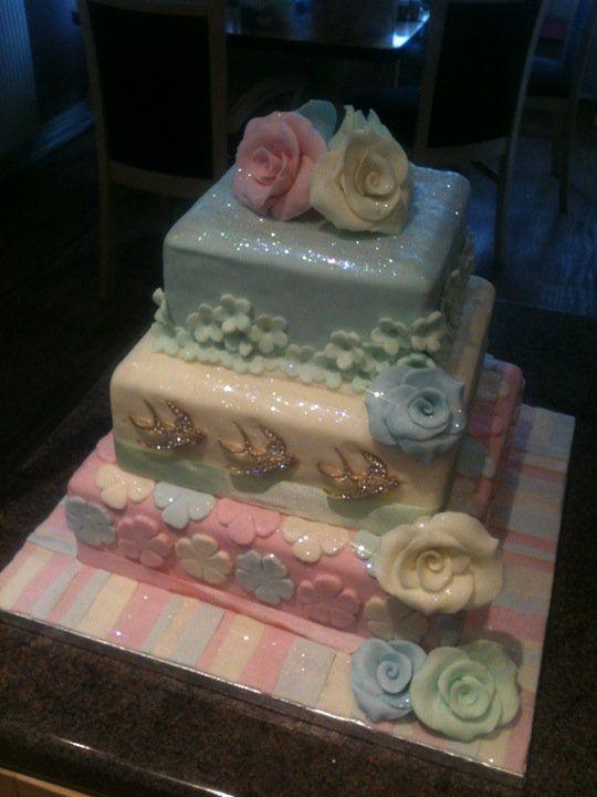 Babyshower cake